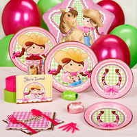 Pink Cowgirl Standard Party Pack