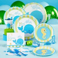 Whale of Fun 1st Birthday Standard Pack