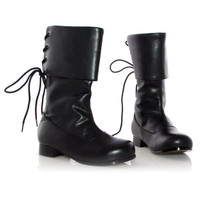 Sparrow (Black) Child Boots