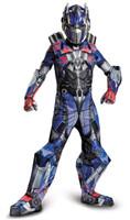 Transformers Age of Extinction +AC0-  Prestige Optimus Prime Kids Costume