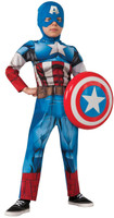Avengers Assemble Deluxe Captain America Child Costume