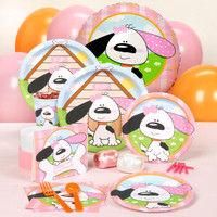 Playful Puppy Pink Standard Party Pack