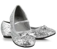 Sparkle Ballerina (Silver) Child Shoes