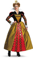 Alice In Wonderland Movie Deluxe Red Queen Adult Costume