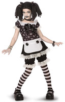 Gothic Rag Doll Child/Tween Costume