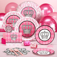 Elegant Princess Damask 1st Birthday Standard Pack