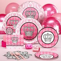 Elegant Princess Damask 1st Birthday Standard Pack