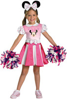 Mickey Mouse Clubhouse - Minnie Mouse Cheerleader Toddler / Child Costume
