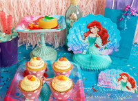 Disney The Little Mermaid Sparkle Basic Party Pack
