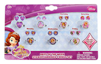 Disney Junior Sofia the First - 7 Day Ring and Earring Set