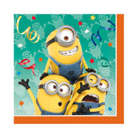 Minions Despicable Me - Beverage Napkins