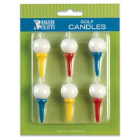 Golf Ball & Tee Candles