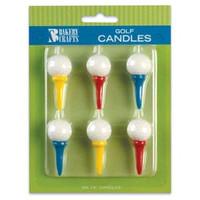 Golf Ball & Tee Candles