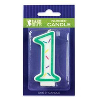 Sprinkle Candle No. 1