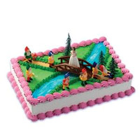 Princess & Dwarves Cake Kit