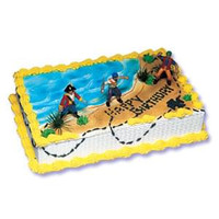 Pirates Cake Kit