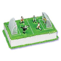 Boys Soccer Cake Kit