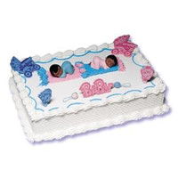 Baby Shower African-American Cake Kit