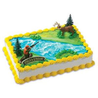 Field & Stream Deer & Hunter Cake Kit