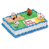 Farm Animals Cake Kit