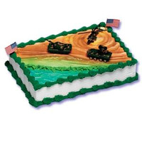 Military Vehicles Cake Kit