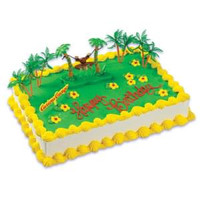 Curious George Cake Kit