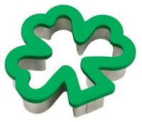 Shamrock Comfort Grip Cookie Cutter