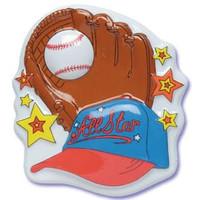 Baseball Cake Poptop