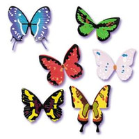 Butterflies Cupcake Rings Assorted
