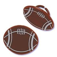 Football Cupcake Rings