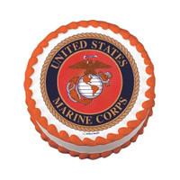 Us Marines Logo Edible Image®