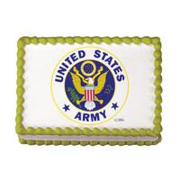 Us Army Logo Edible Image®