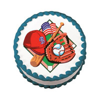 Baseball Fan Edible Image®
