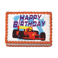 Birthday Race Car Edible Image®
