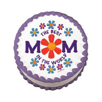 Best Mom In The World Edible Image®