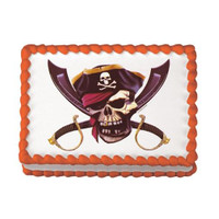 Pirate Skull Edible Image®