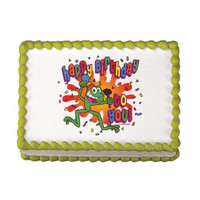 Frog Birthday Edible Image®