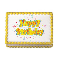 Birthday Dots Edible Image®