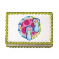 Flip Flops Edible Image®