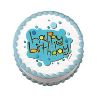 Birthday Bubbles Edible Image®