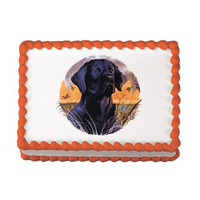 Black Lab Edible Image®