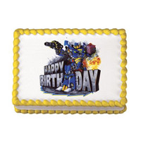 Robot Birthday Edible Image®