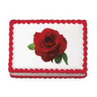 Red Rose Edible Image®