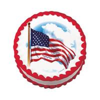 American Flag Edible Image®