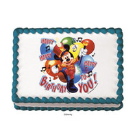 Mickey Mouse & Friends Marching Band Edible Image®