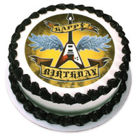 Rock Star Birthday Edible Image®