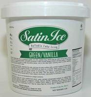 Satin Ice Green Rolled Fondant 2 lbs
