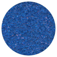 Dark Blue Large Grain Sugar Crystals
