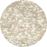 White Edible Glitter - 0.25 oz