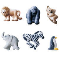 Mini Zoo Animals Assortment Sugars by Lucks
